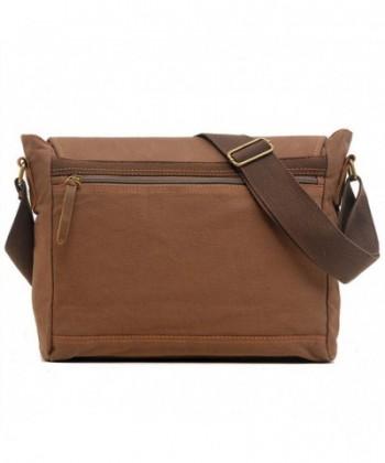 Vintage Crossbody Shoulder Messenger Genuine  Discount Real Men Briefcases  Outlet  Fashion Men Bags dfebd66107faf