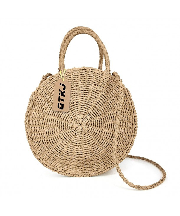 Summer Handwoven Shoulder Messenger Satchel