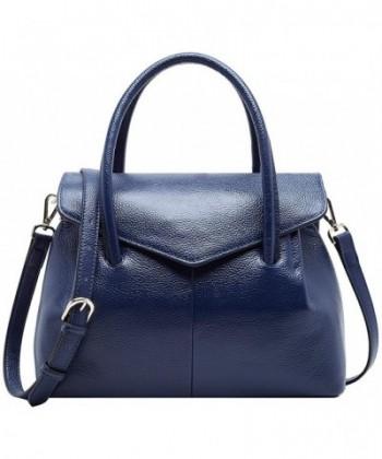 BOYATU Leather Handbag Elegant Business
