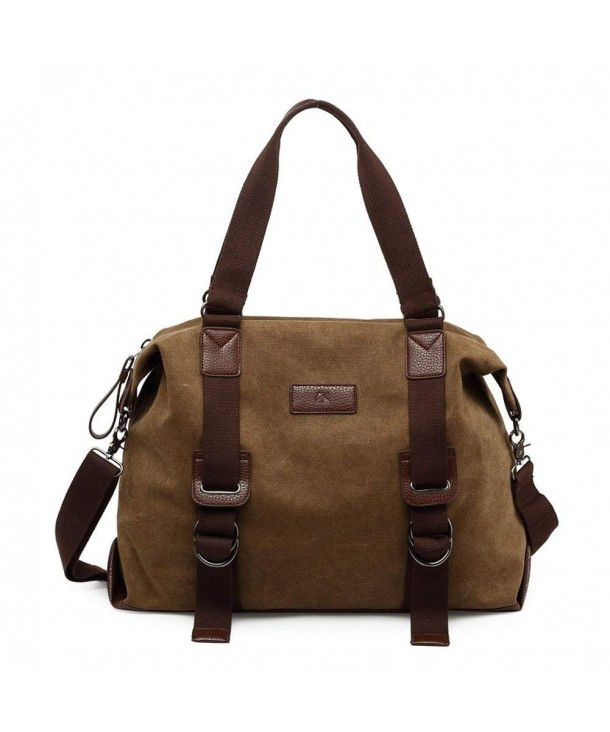 Womens Casual Canvas Weekend Shoulder