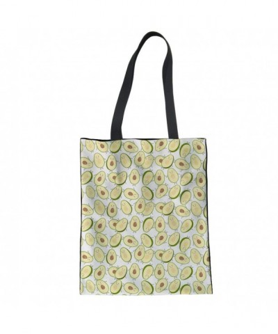 HUGS IDEA Avocado Pattern Shoulder