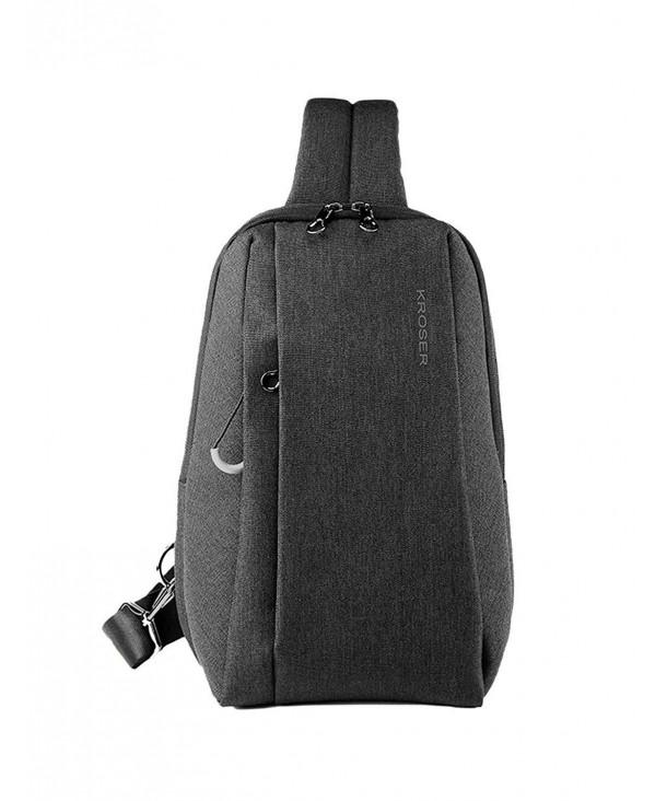 KROSER Backpack Crossbody Daypack Water Repellent