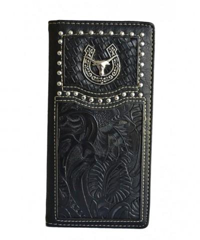 Stony West Longhorn Horseshoe Leather