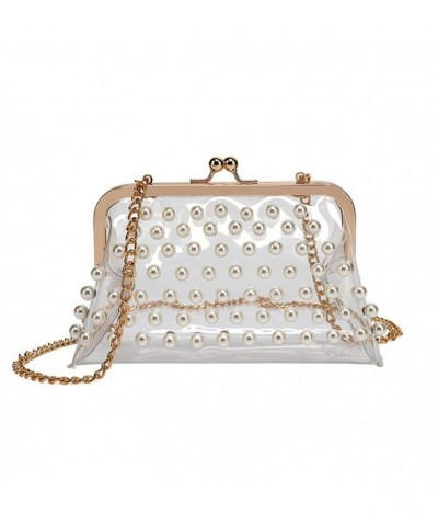 Beaded Messenger Shoulder Through Handbags