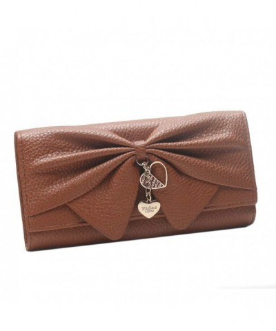 Damara Leather Bifold Design Handbag