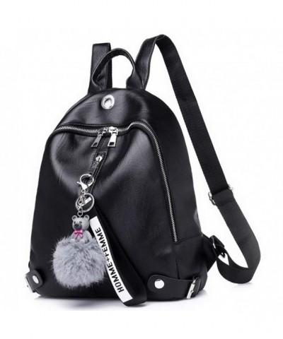 Backpack Waterproof Lightweight Leather Shoulder