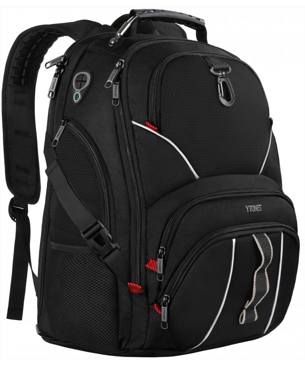 Anti Theft Resistant Backpacks Headphone Notebooks