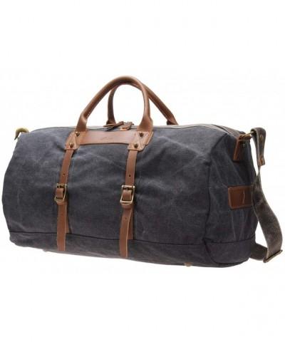 Overnight Weekender Leather i518 grey