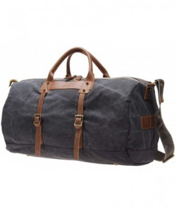 Overnight Weekender Leather i518 grey