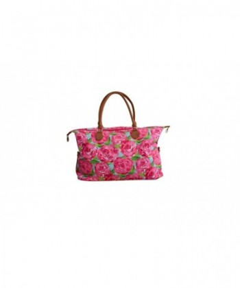 Lilly Inspired Rose Coral Weekender