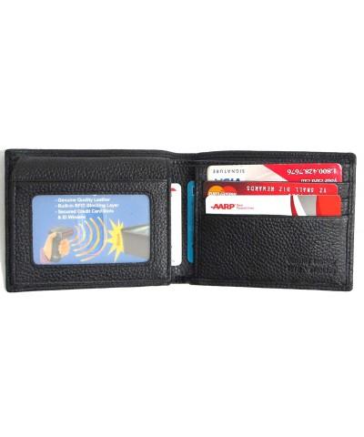 Blocking Genuine Leather Wallet Bifold