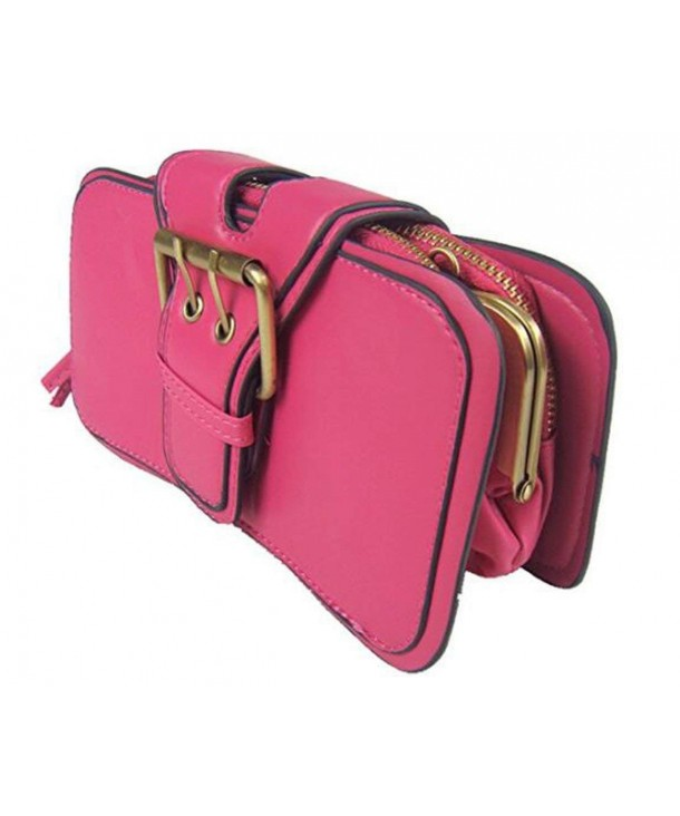 VISKEY Womens Leather Evening Handbag