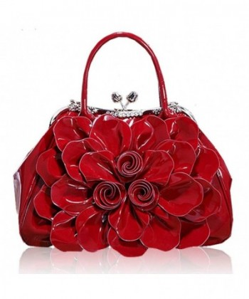 Fashion Shoulder Messenger Handbags Wine red