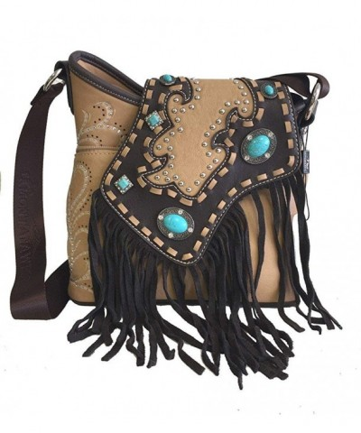 Montana West Western Crossbody Turquoise
