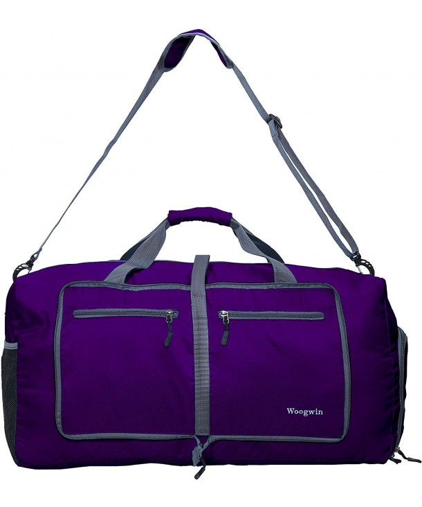 ... Mens Large Foldable Duffle Sports Gym Bags (purple) - purple -  CO18GYXMQ4Q. Woogwin Travel Duffel Womens Foldable 44959dc7eba14