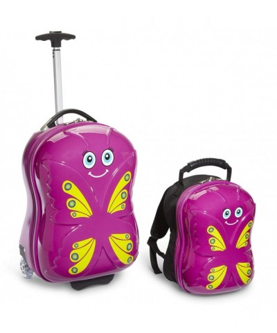 Travel Buddies Bella Butterfly Magenta