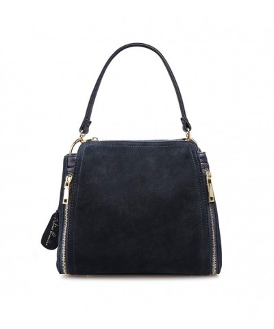 Leather Shoulder Leisure Handbag Top handle