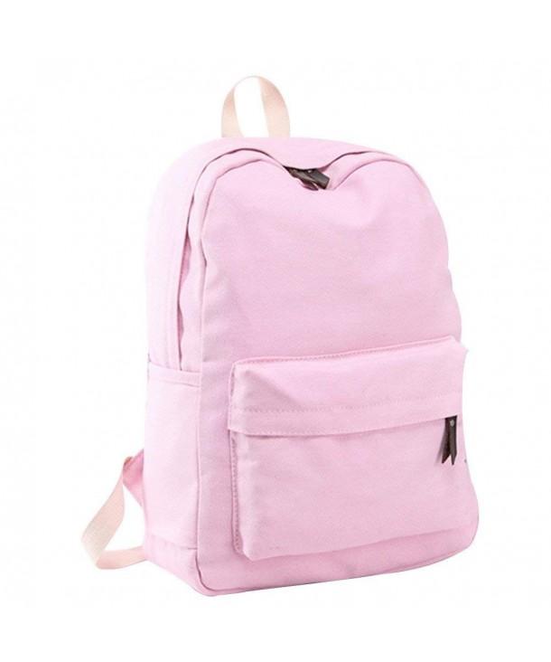 Canvas Shoulder Backpack Student Rucksack