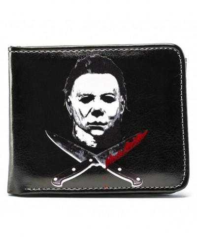 Halloween Micheal Knives Bi Fold Wallet