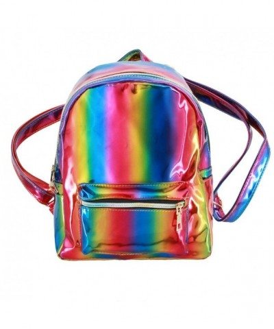 Liliam Fashion Holograhic Backpack Shoulder