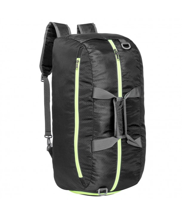 d9356a671f ... Travel Duffel Bag Backpack Luggage Gym Sports Bag with Shoe Compartment  - Black - CD184T4RLIX. Riavika Backpack Luggage Compartment Women Black