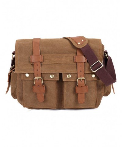 UONBOX Messenger Vintage Military Shoulder