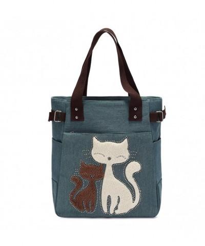KAUKKO Casual Embroidered Shoulder Handbag