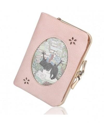 Womens Wallet Vintage Pattern Leather