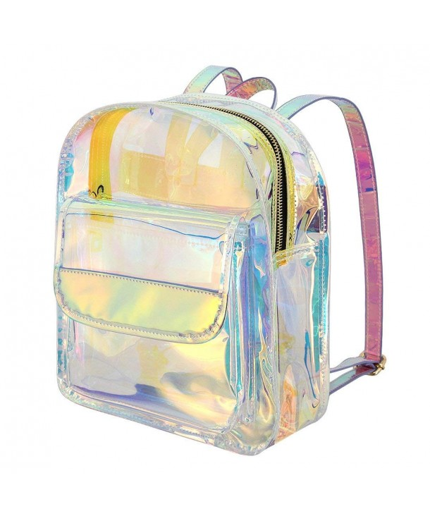 Candice Transparent Hologram Holographic Shoulder