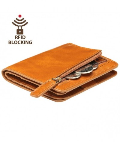 Itslife Womens Blocking Compact Leather