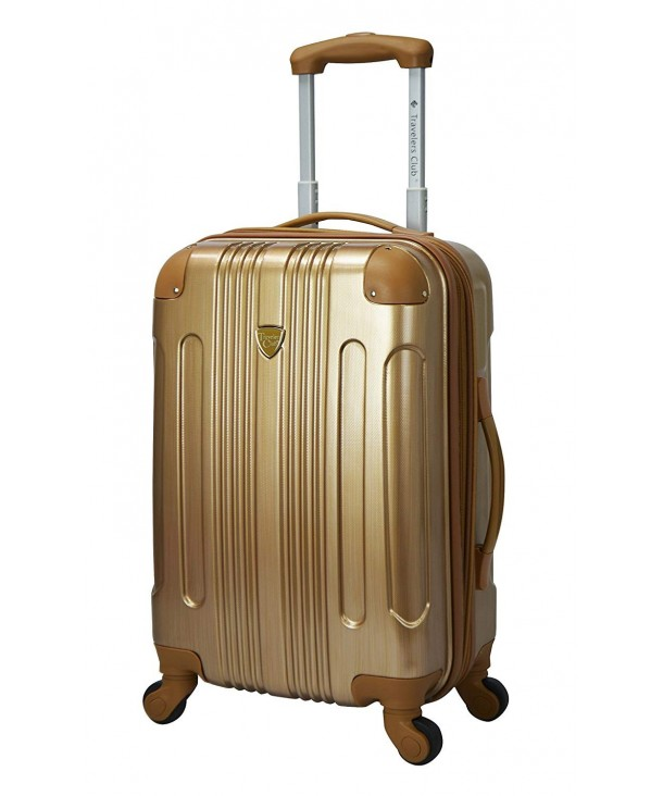 Travelers Club Metallic Accented Expandable