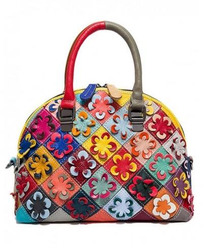 Leather Shoulder Satchel Handbag Messenger
