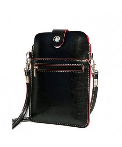 YaJaMa Leather Shoulder Crossbody Cellphone