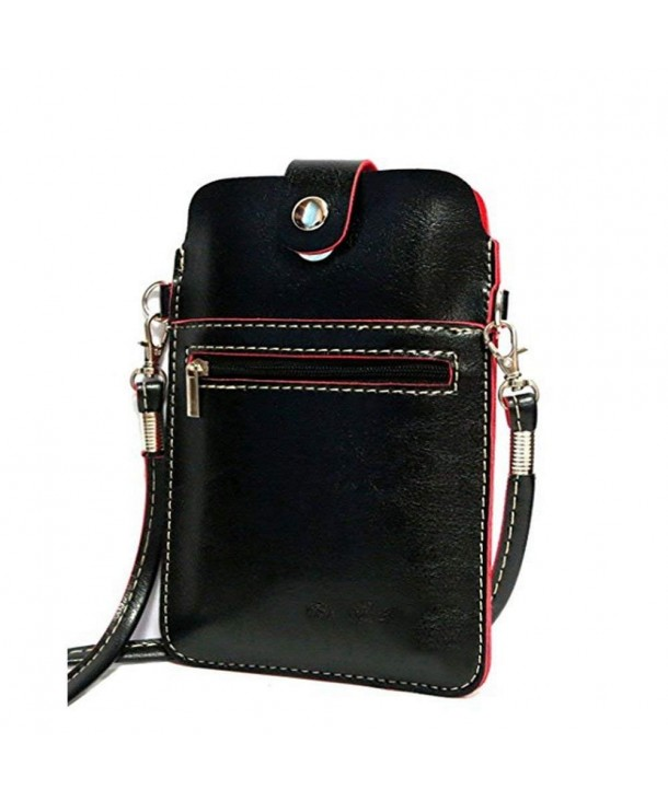YaJaMa Leather Shoulder Crossbody Cellphone