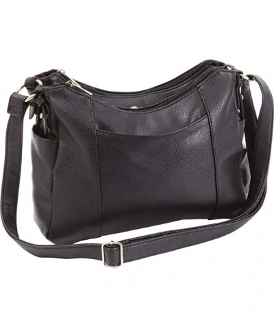 Fleur Lune Ladies Black Purse