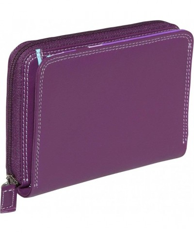 BelArno Bifold Wallet Combination Purple