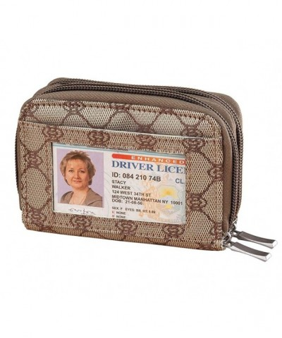 WalterDrake Jacquard Accordion RFID Wallet