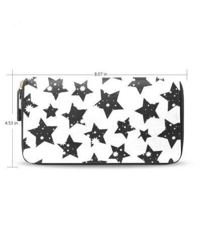 Womens Stars Pattern Wallet Holder