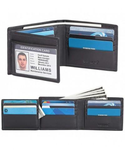 Genuine Leather WalletFID Blocking pockets