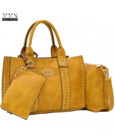 Marco Kelly Fashion Classic Fall Satchel Wallet Crossbody MA 13 0620W Tan