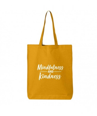Mindfulness Kindness Cotton Canvas Tote