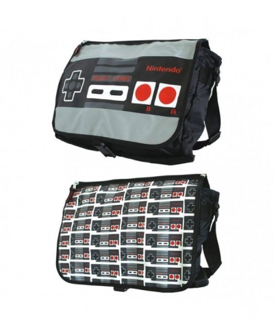 Nintendo Allover Reversible Messenger Black