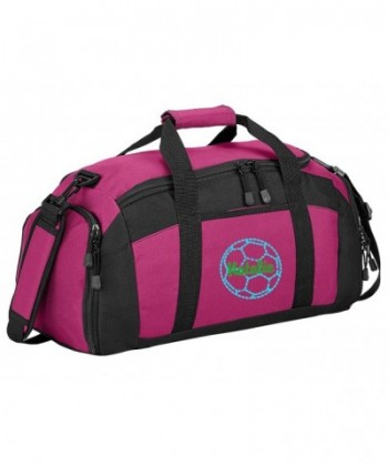 Personalized Soccer Sports Duffel Tropical