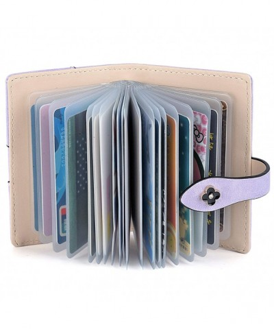 UTO Credit Holder Leather Lavender