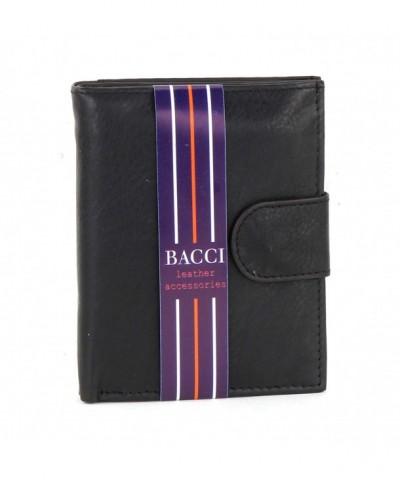 Bacci Cowhide WomenS Bi Fold Wallet
