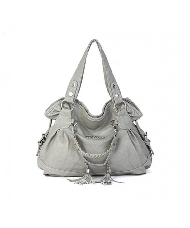 Hynbase Casual Leather Handbag Shoulder