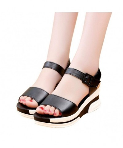 AIMTOPPY Womens Mouth Sandals Student