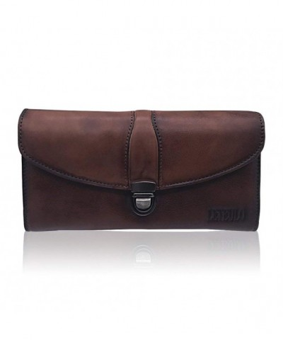 Capacity Handmade Genuine Leather 923Coffee
