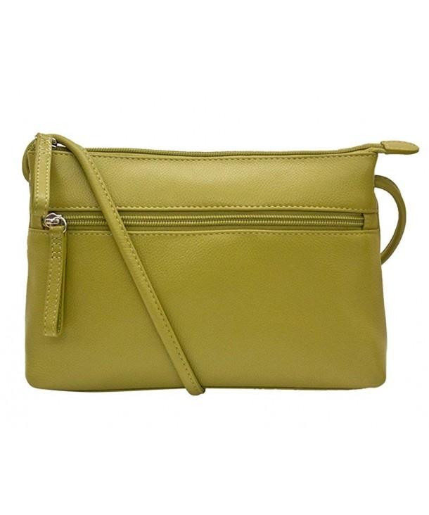 ili Leather Crossbody Handbag Lining
