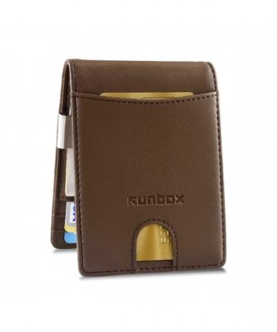 Minimalist Wallets Blocking Genuine Leather